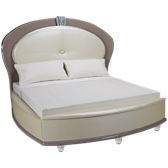 King Upholstered Bed with Storage