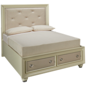 Diamond Queen Storage Bed
