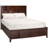 Queen 2 Drawer Low Profile Storage Bed