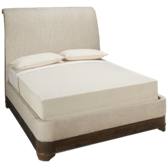St Germain Queen Upholstered Sleigh Bed