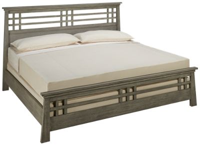 Ligna Furniture Zen Ligna Furniture Zen King Grid Bed   Jordanu0027s Furniture