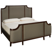 Sterling King Upholstered Bed