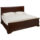 Low Profile King Sleigh Bed