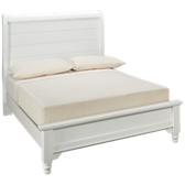 Cottage Full Low Profile Sleigh Bed