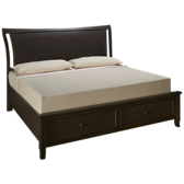 Commentary King Storage Bed
