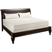 King Low Profile Leather Bed