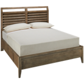 Queen Platform Bed with 2 Storage Drawers