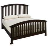 Forsyth Queen Arched Slat Bed