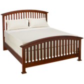 Queen Arched Slat Bed