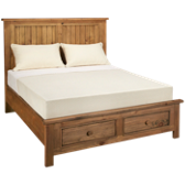Homecoming Queen Panel Storage Bed