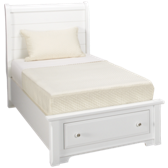 Twin Storage Sleigh Bed