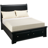 Full Sleigh Storage Bed