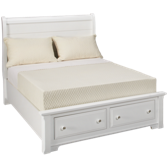Full Storage Sleigh Bed