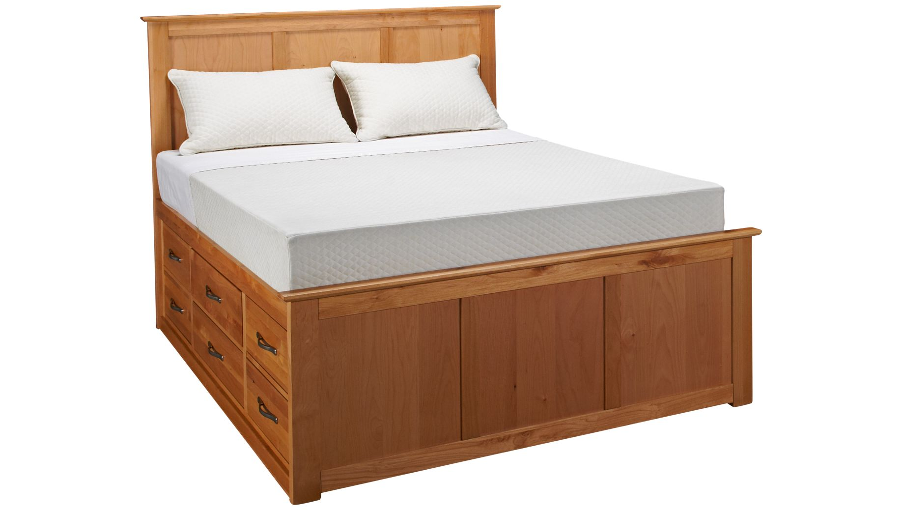 Drawers For Under Bed Mastercraft Urban Home Mastercraft Urban Home Queen Pedestal Bed