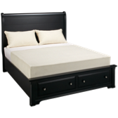 Queen Sleigh Storage Bed