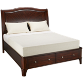 Queen Storage Sleigh Bed