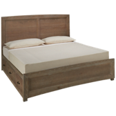 Transition King Panel Storage Bed