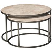 Nesting Round Cocktail Tables