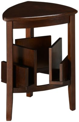 Ashley Larimer Triangle End Table. Product Image. Product Image. Roll Over  To Zoom