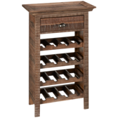 Grey Wire Wine Rack
