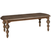 "Great Rooms Gathering Table w/(1) 20"" Leaf"