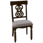 Belmeade Scroll Upholstered Side Chair