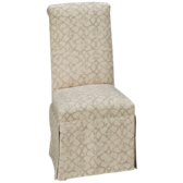 Central Upholstered Side Chair