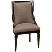 Upholstered Sling Chair