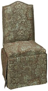 Upholstered Side Chair with Nailhead