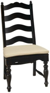 Side Chair with Seat Cushion