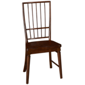 Carolina Preserves Rake Back Side Chair