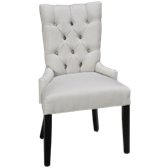 Upholstered Side Chair with Nailheads