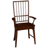 Carolina Preserves Rake Back Arm Chair