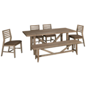Corliss Landing 6 Piece Dining Set