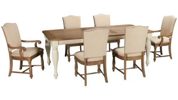 Riverside-Coventry-Riverside Coventry 7 Piece Dining Set ...