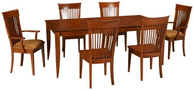 Saloom - Redwood - 7 Piece Dining Set