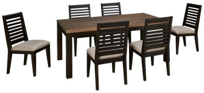 Legacy Classic Helix 7 Piece Dining Set. Product Image