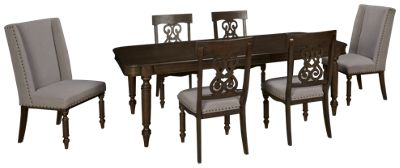 Riverside Belmeade Riverside Belmeade 7 Piece Dining Set   Jordanu0027s  Furniture Part 94