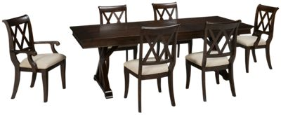 Legacy Classic Thatcher Legacy Classic Thatcher 7 Piece Dining Set   Jordanu0027s  Furniture Part 92