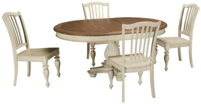 Riverside  Coventry Riverside Coventry 5 Piece Dining Set   Jordanu0027s  Furniture Part 24