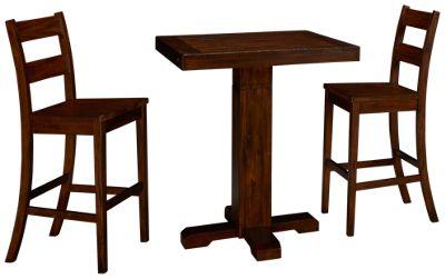 Sunny Designs Vineyard  Sunny Designs Vineyard 3 Piece Pub Dining Set    Jordanu0027s Furniture