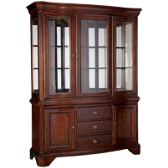 American Traditions China Base and Hutch