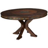 Savannah Round Adjustable Height Dining Table