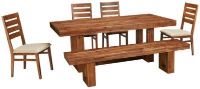 cresent fine fine furniture waverly 6 piece dining set furniture
