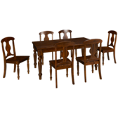 Rattan Urban Lodge 7 Piece Dining Set