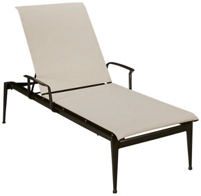 brown jordan flight sling chaise lounge