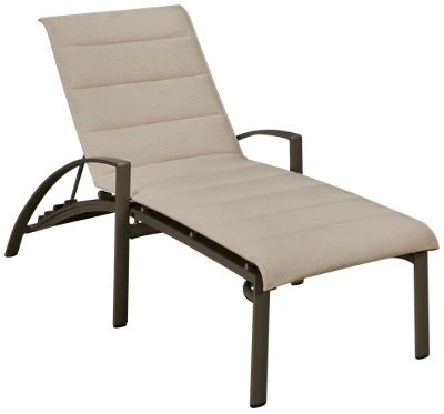 Brown jordan pasadena brown jordan pasadena padded chaise for Brown and jordan chaise lounge
