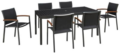 lloyd flanders lux 7 piece outdoor dining set furniture