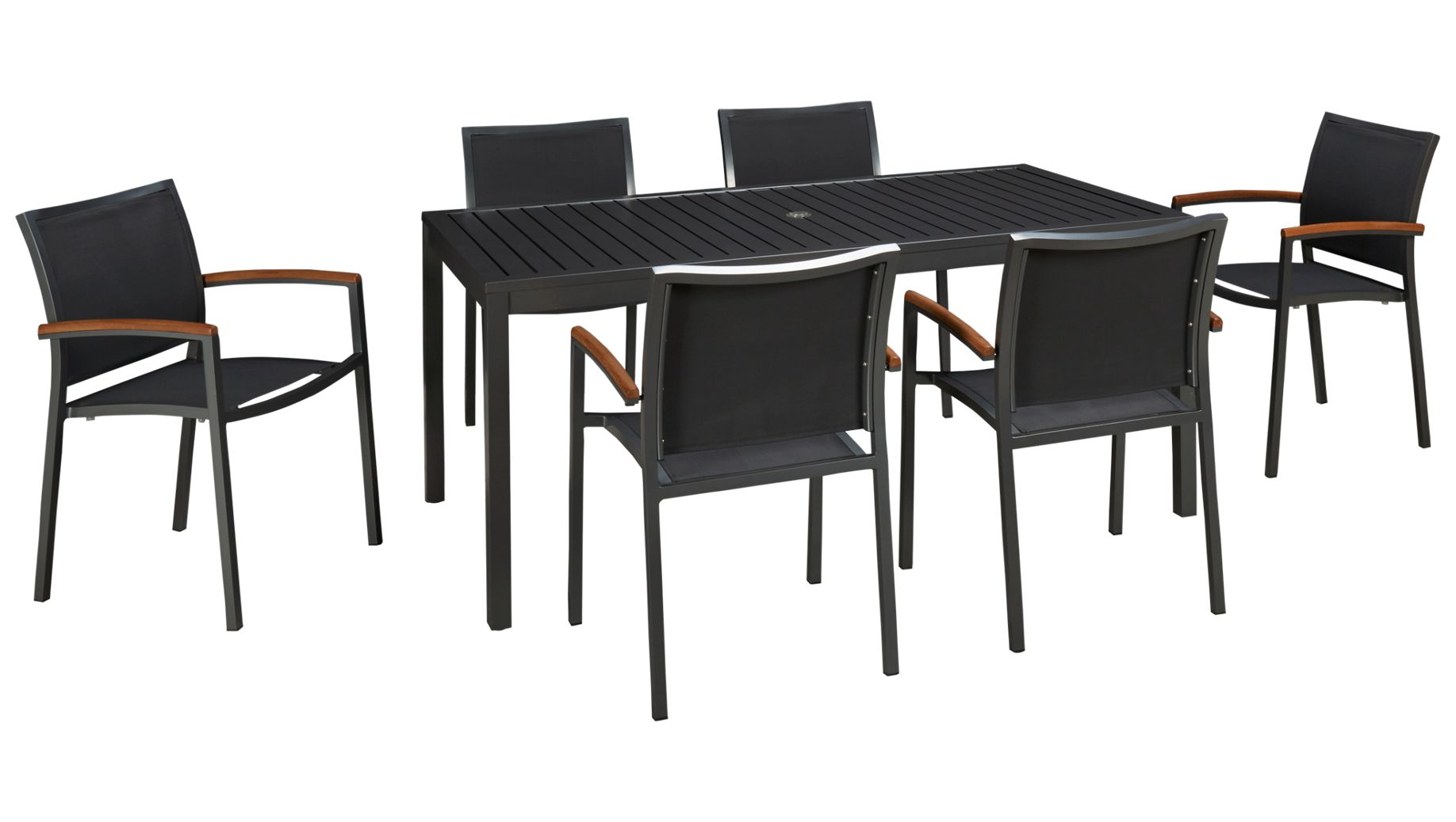 Outdoor dining furniture outdoor dining sets lloyd flanders dining - Lloyd Flanders Lux 7 Piece Outdoor Dining Set