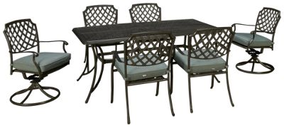 Agio International Melbourne 7 Piece Outdoor Dining Set